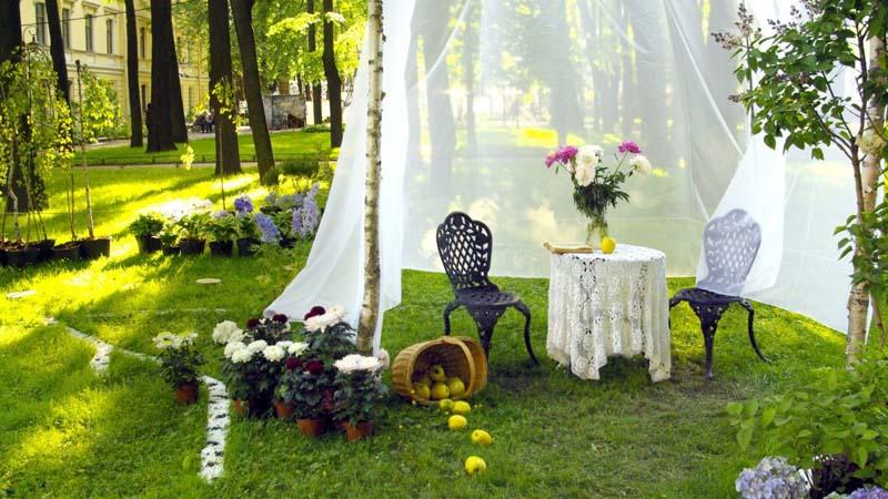 decorar tu jardín
